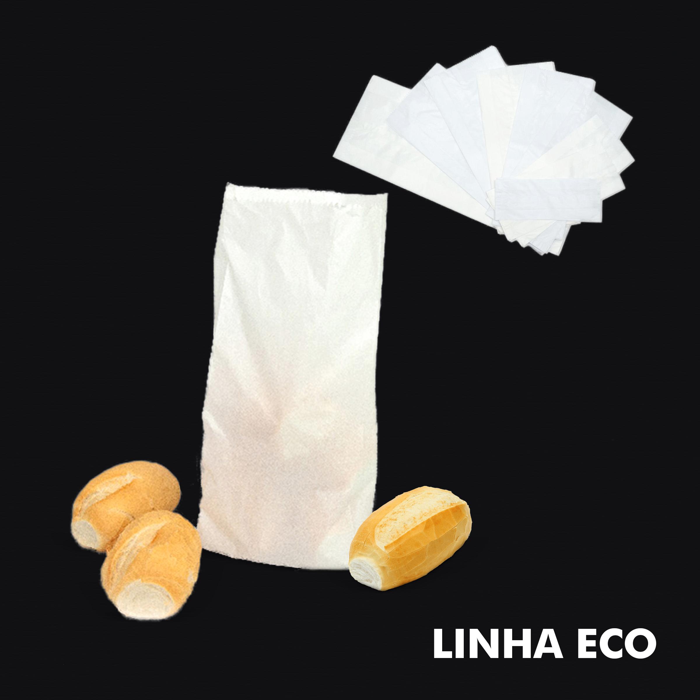 Saco de Papel Kraft Branco – Linha Eco - RF