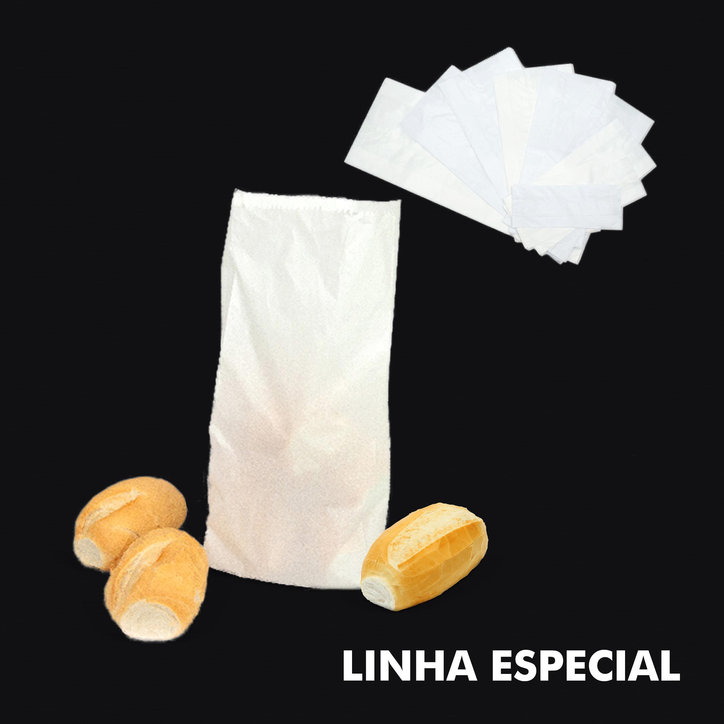 Saco de Papel Kraft Branco – Linha Especial - RF
