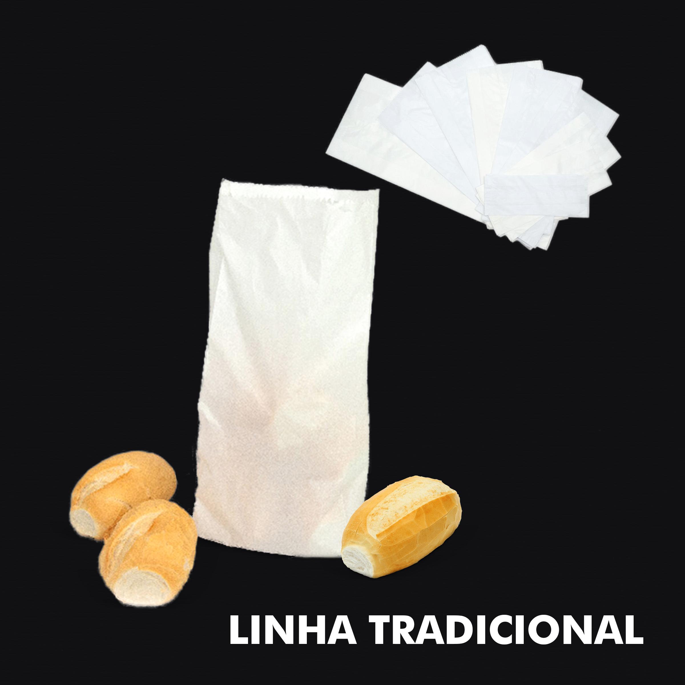 Saco de Papel Kraft Branco – Linha Tradicional - RF
