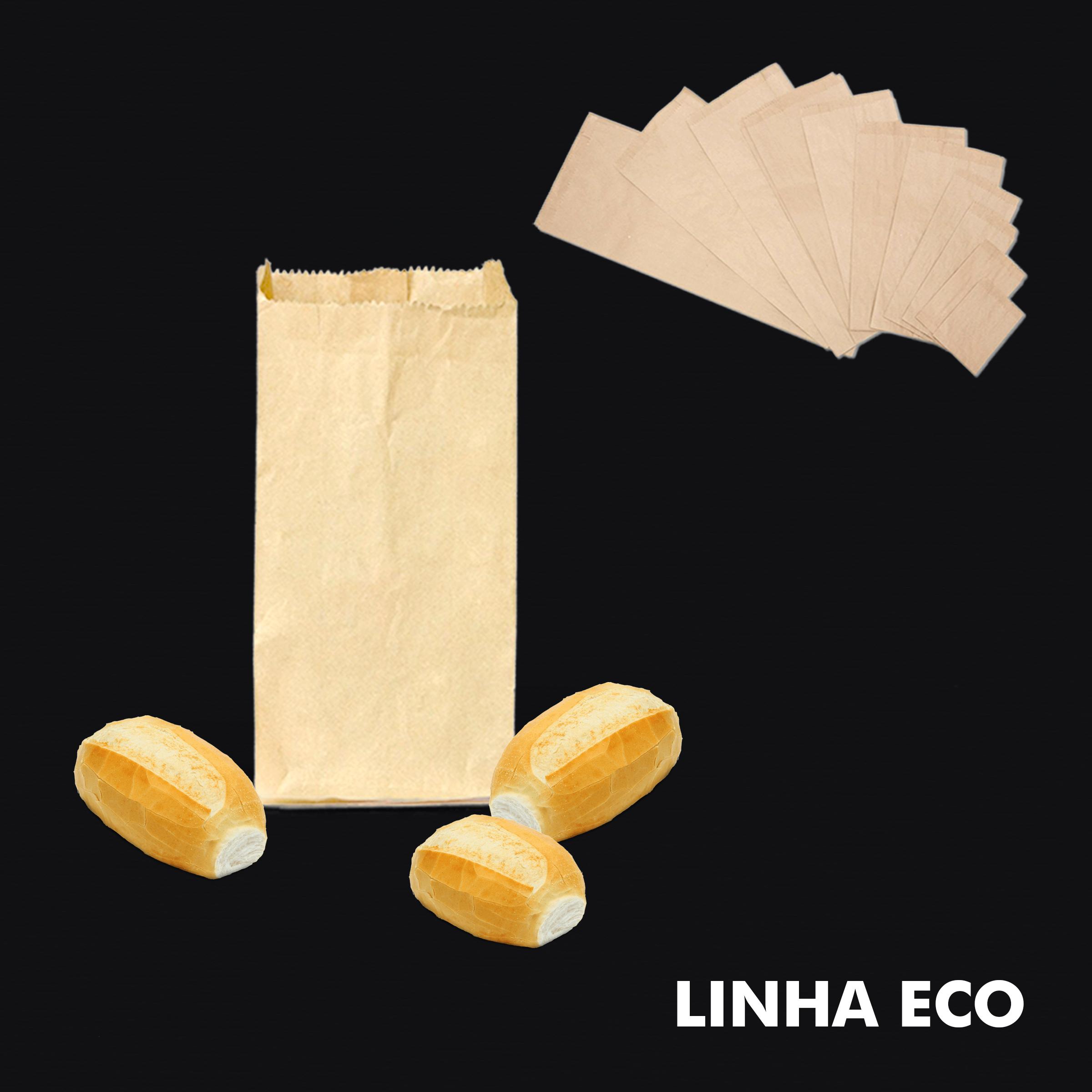 Saco de Papel Kraft Mix – Linha Eco - RF