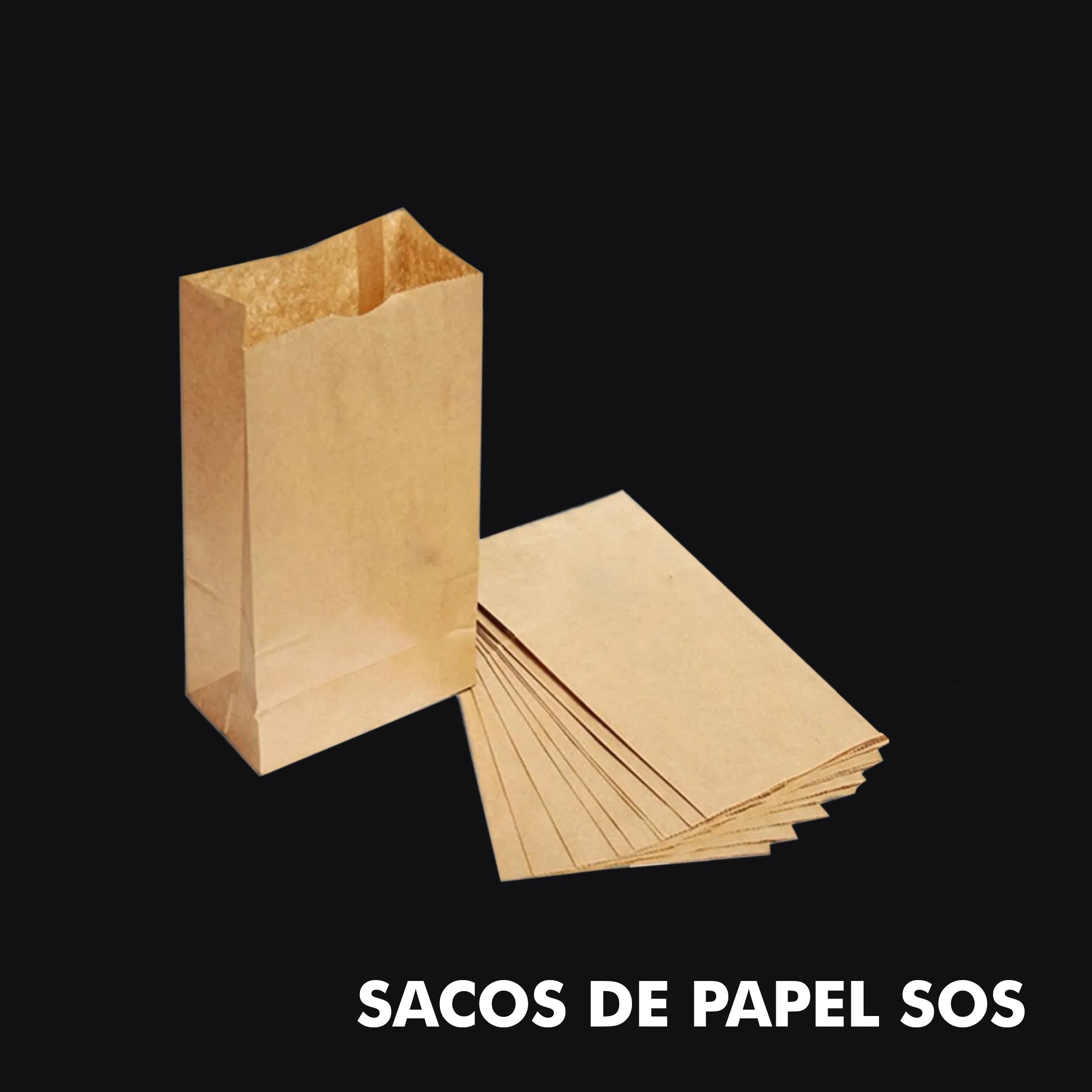 Diversos – Sacos Papel SOS (Fundo Quadrado) - RF