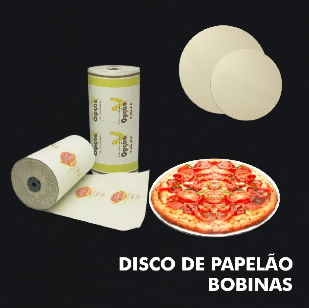 Diversos – Discos de Papelão -Bobinas - RF
