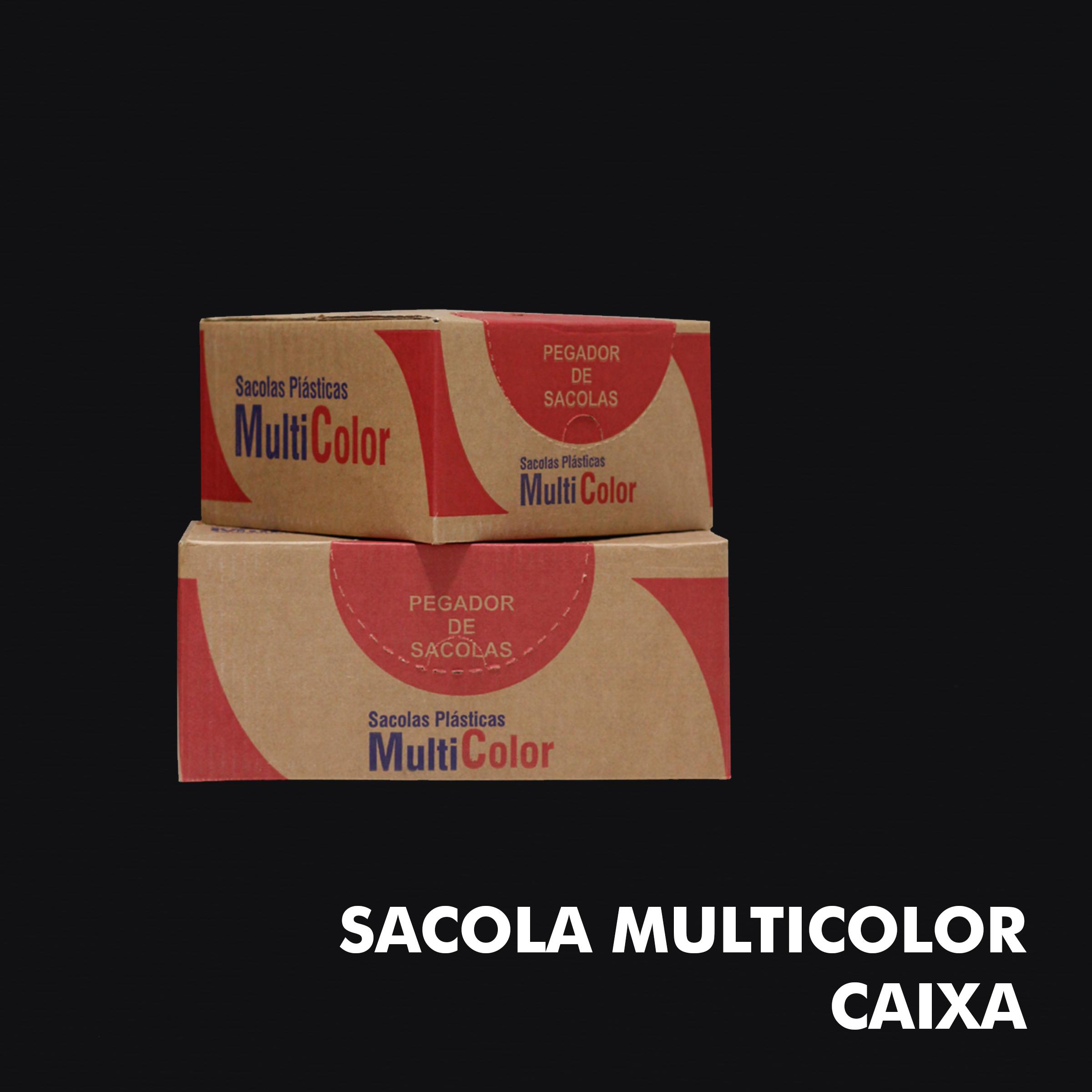 Sacola Multicolor – Caixa - RF