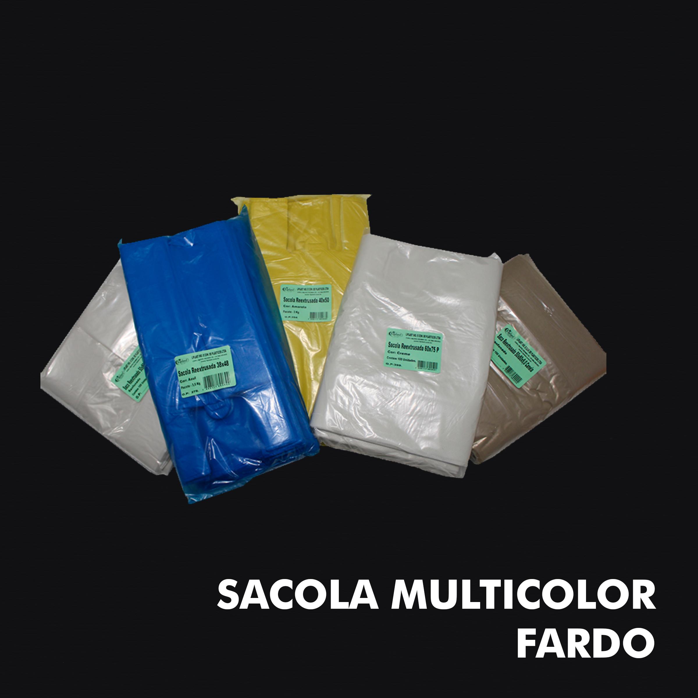 Sacola Multicolor – Fardo - RF
