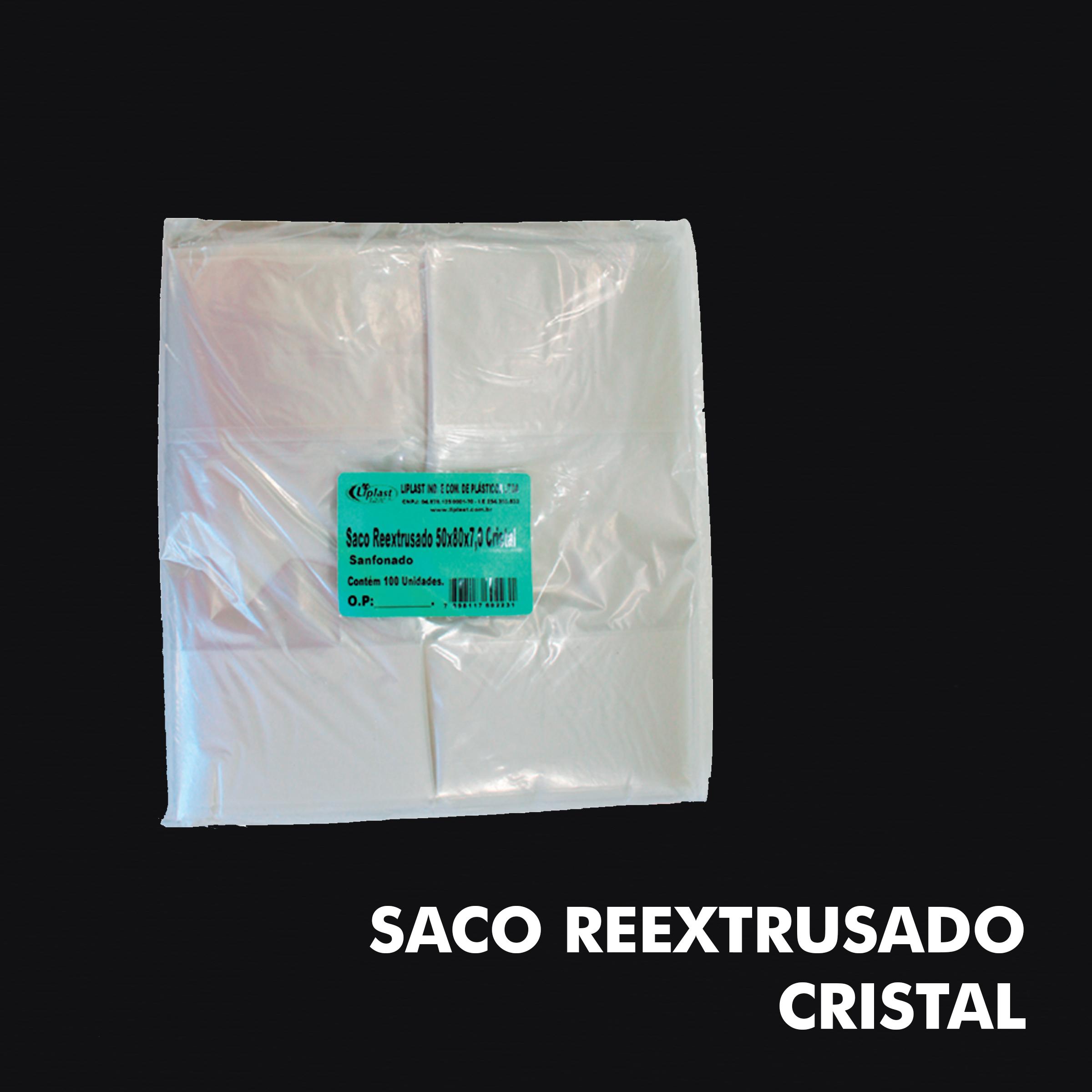 Saco Reextrusado Cristal - RF